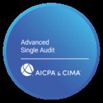advanced single audit certificate
