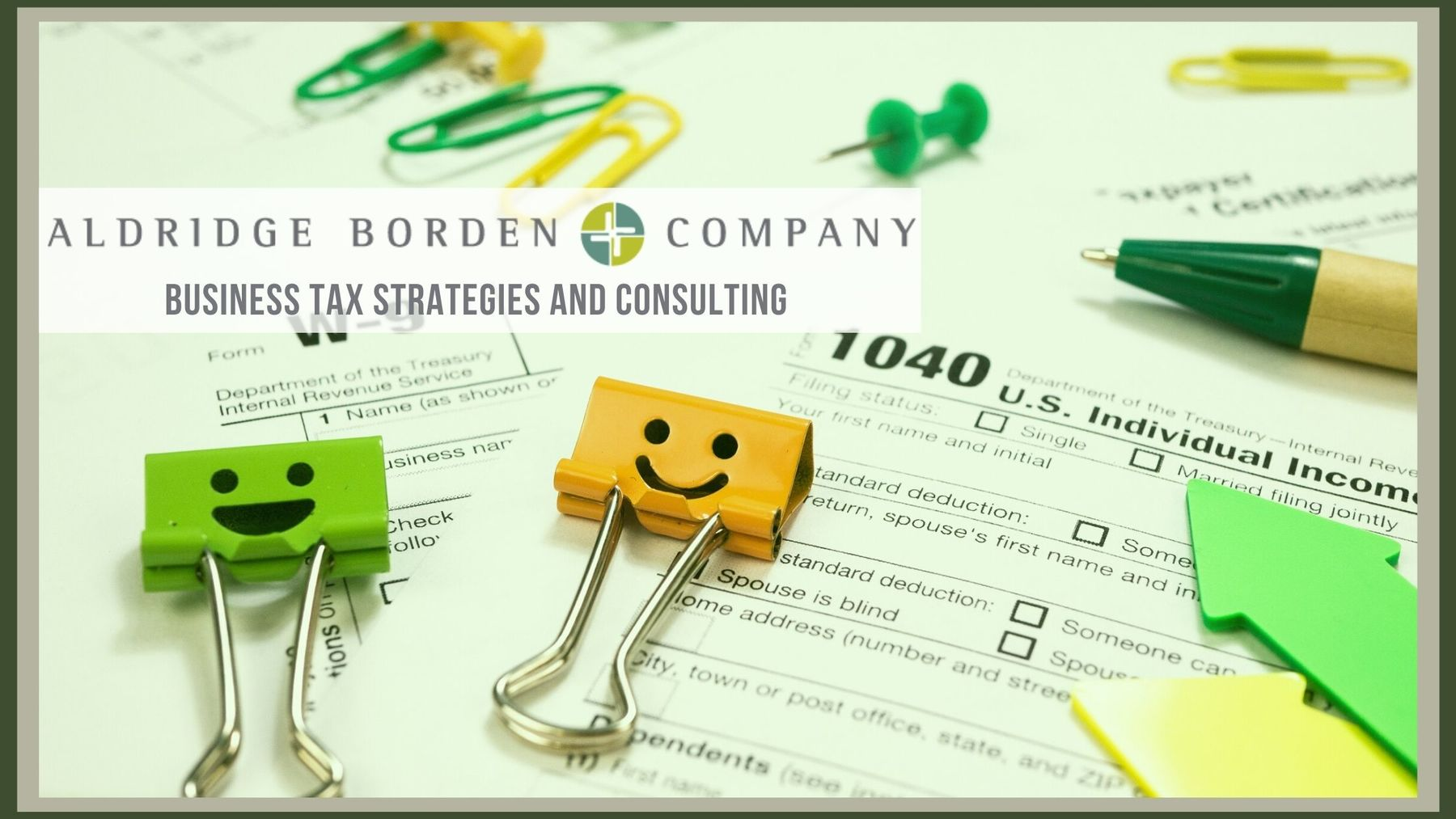 Business Tax Strategies Made Easy At Aldridge, Borden & Company